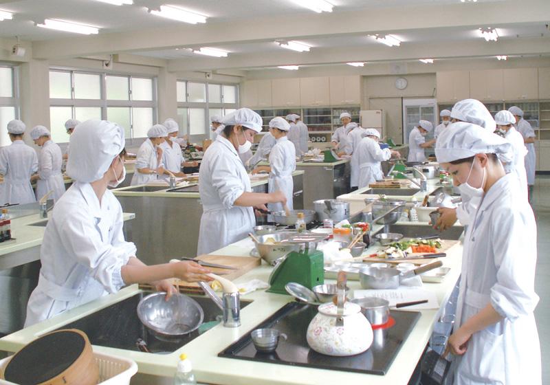 調理実験実習室